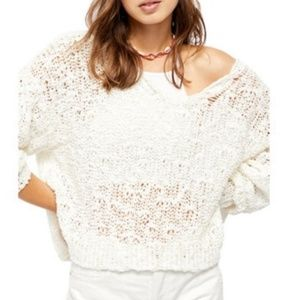 ‼️Free People Sunday Shore Pullover Sweater NWT